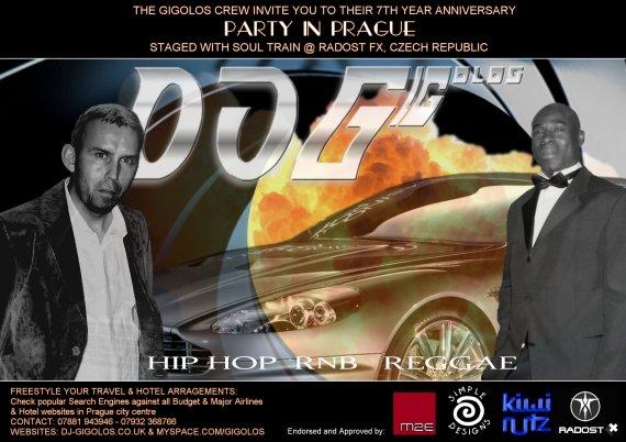 Gigolos Crew: 7th Anniversary Party @ Soul Train - Radost ...